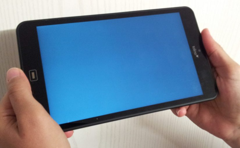 Android Bluescreen