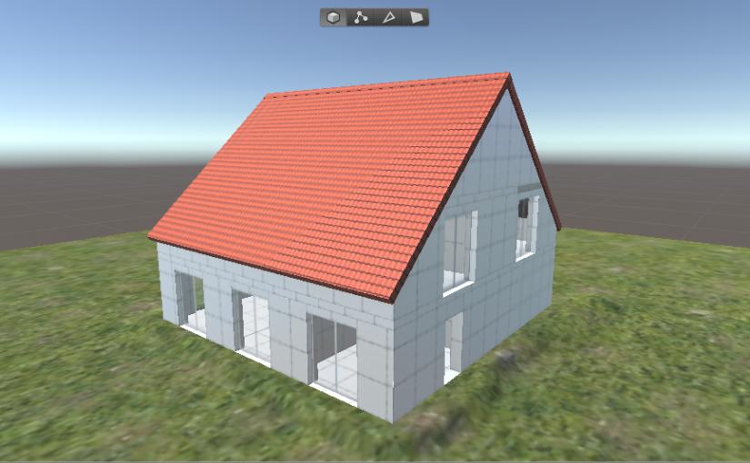 Using ProBuilder for 3D Architectural Sketches